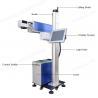 Glass Flying Laser Marking Machine , Laser Line Marking Machines For Crystal for sale