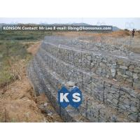 Quality Galvanized Wire Gabion Retaining Walls Plastic or Stainless Steel Wire PE Coating Gabion Mattress for sale