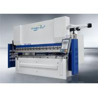 China NC Hydraulic Press Brake , Stainless Steel Bending Machine Good Rigidity on sale