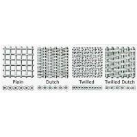 Buy 304 & 316 Stainless Steel Dutch Weave Wire Mesh for Pharmaceutical at wholesale prices