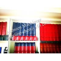Quality plastic PVC multi-colors and patterns glazed roof tile for sale