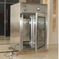 China Stainless Steel Air Shower Pass Box / Cleanroom Passbox for Hospital on sale