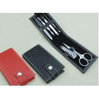 Quality Travel Nail Accessories Beauty Manicure Pedicure Set Nail 6 PCS for sale