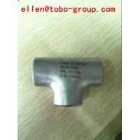 Quality China uns s32750 super duplex steel tee supplier for sale