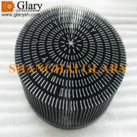 Quality GLR-PF-210066 8.27 round forging aluminum heatsink, led cooler for sale