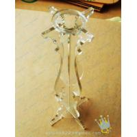 Quality CH (51) bubble Acrylic candle holder for sale