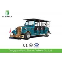 China 11 Seater Electric Vintage Cars , 7.5KW Sightseeing Electric Tourist Bus With AC System on sale