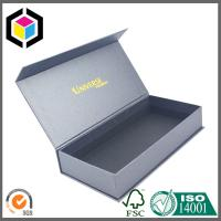 Buy Premium Quality Chipboard Gift Paper Packaging Box; Gold Logo Gift Box at wholesale prices