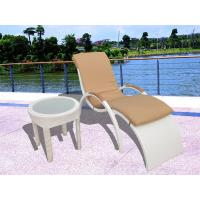 Quality hotel garden sun lounger rattan chaise lounge for sale