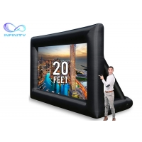 Quality Advertising Infinity Products Inflatable Screen Projector for sale