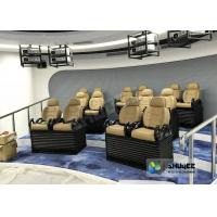 Quality Genuine leather Mobile 5D Movie Theater In Truck Or Trailer Back Poking Effects for sale