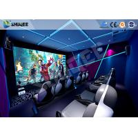 Quality Interactive Truck Mobile 5D Cinema With Special Effect Motion Seat for sale