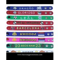 Quality manufacture wholesale adjustable sport silicone wristband/personalized silicone bracelet for sale