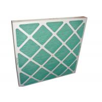 Quality Electronic Furance Pleated Panel Air Filters Performance With Cardboard Frame G4 for sale