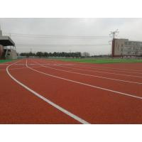 Quality High Elasticity Track And Field Rubber Runway Shock Absorption Recycled Material for sale