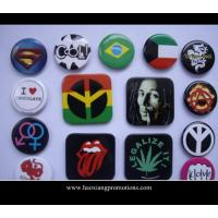 Quality Custom Logo Regular Size Tin Button Badge With Safety Pin,Cheap Pin Badges,Metal Badge Set for sale