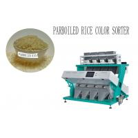 Quality 5400 Pixel Intelligent Industrial Sorting Machine , Parboiled Rice Colour Sorter Machine for sale