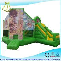 Quality Hansel commercial kids bounce house playground for sale for sale