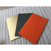 Buy White Polyester Paint Aluminum Sandwich Panel Anti - Toxicity With 4mm Thickness at wholesale prices