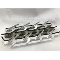 Buy cheap 6 Inch Length Machining Aluminum Parts / Window Louvers WIth Punching from wholesalers