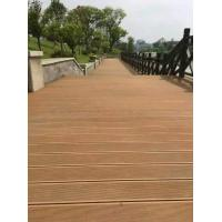 Quality Recyclable WPC Deck Frooring for sale