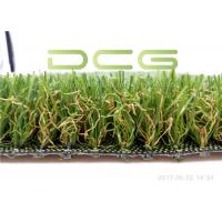 Quality Cement Base Realistic Looking Artificial Grass Rug SGS Certificate With 4 Colors for sale