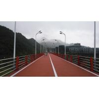 Quality Anti Aging EPDM Jogging Track , UV Resist Coloured Rubber Crumb Thickness 13-15mm for sale