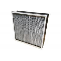 Quality 350℃ High Temperature HEPA Air Filter For HVAC System Dust Holding 1150g for sale