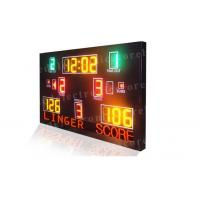 Quality Multi Function LED Basketball Scoreboard High Visibility 1300mm X 2000mm X 100mm for sale