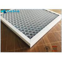 Quality Customized Foil Thickness Aluminum Honeycomb Panels , Honeycomb Metal Sheet for sale
