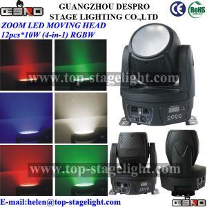 Quality Zoom LED wash moving head (18pcs*9WRGB/12pcs*10W rgbw) for sale