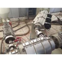 Quality PP / PE Pipe Plastic Pipe Extrusion Line , PE Water And Gas Pipe Extruder for sale