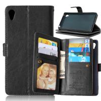 Buy Sony Xperia Z3 Z4 C5 Z5 Premium M4 Aqua Wallet Case Cover Bags Pouch 9 Cards at wholesale prices