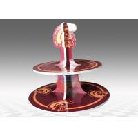 Buy KT Board 2- tier Cardboard Cup Cake Stand For Party Occasion at wholesale prices