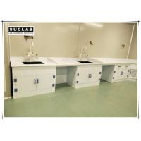 China Epoxy Resin Countertop Chemistry Lab Furniture With PP Drawer And Base Cabinet on sale