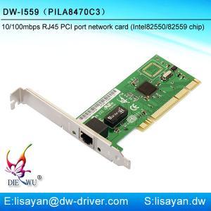 Quality Realtek RTL8111C Fast Ethernet RJ45 Gigabit PCI Express Lan Card for sale