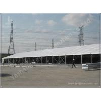 China Durable 2500 Sqm Large Clear Span Tents ,  Logistics Outdoor Warehouse Tents on sale