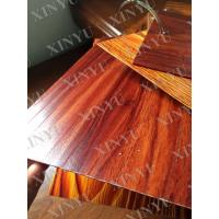 Quality Wood grain transfer Aluminium Window Profiles for decoration material for sale