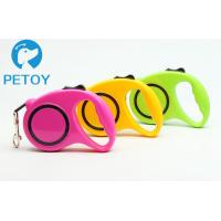 Quality Heavy Duty Retractable Pet Leashes Quick Release Basic Collars Type for sale