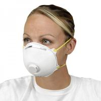 Quality Non Woven Activated Carbon Respirator N95 , Carbon Filter Dust Mask With Valve for sale
