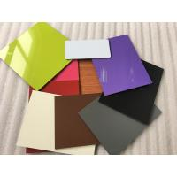 Buy Colorful Aluminum Composite Cladding Materials , Exterior Wall Covering at wholesale prices