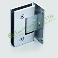China High Quality 90 degree Stainless Steel shower clamp,shower hinge,glass clamp,Satin finish on sale
