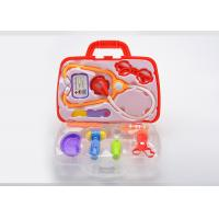 Buy Plastic Pretend Play Kids Doctor Kit With Working Stethoscope 10 Pcs Carry Case at wholesale prices