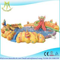 Quality Hansel Inflatable Water Park For Pool Party, Inflatable Water Games For Rental Business for sale