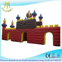Quality Hansel best quality inflatable fun bounce house for kiddies wholesale for sale