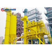 Quality 40 - 320th Asphalt Mixing Plant 4 Cold Aggregate 45S Mixing Cycle Heavy / Light Oil for sale
