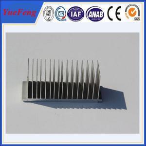 Quality OEM aluminium 99.5% aluminium heat shield, kinds of aluminum extrusion heat sink for sale