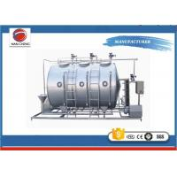 Quality Stainless Steel Clean In Place Equipment , Automatic CIP Tank In Water Treatment for sale
