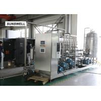 Quality Automatic Carbonated Filling Machine With Automatic Mass Flow Mixer Reducing  Precision Error for sale