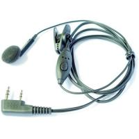 Quality 1 ear intercom headset for 2 way radio for sale